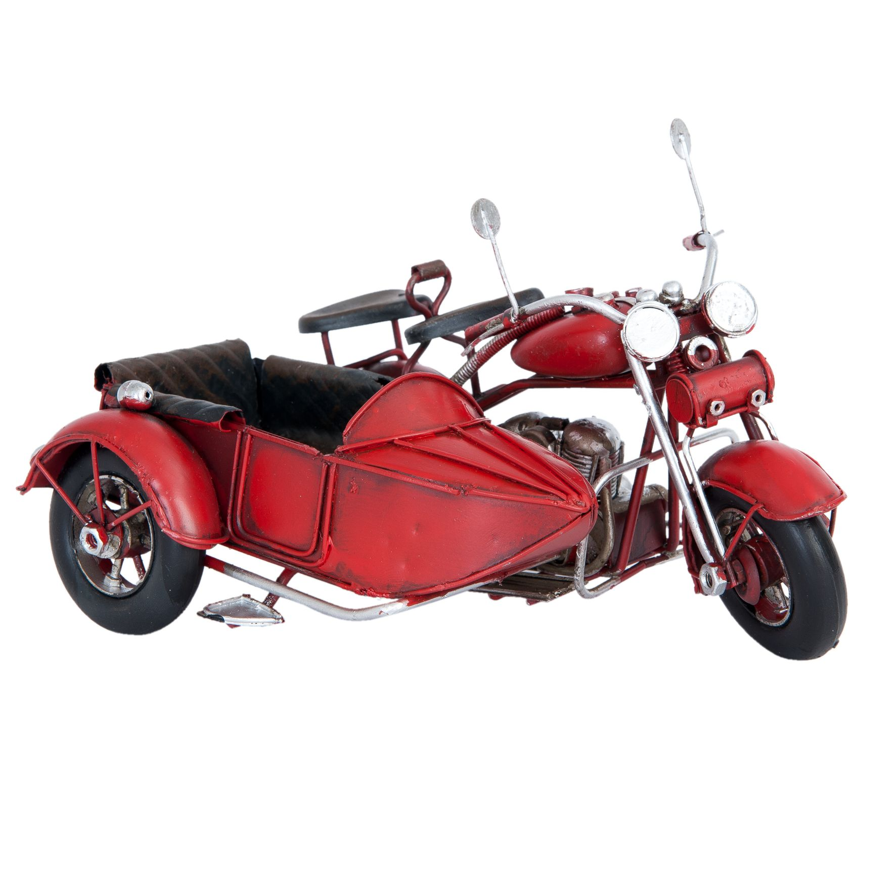 Retro model RED MOTORKA SIDECAR